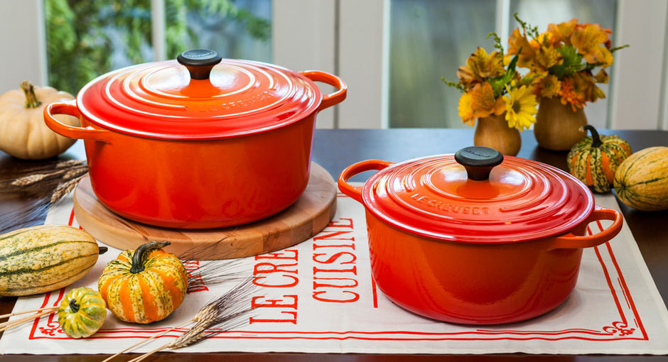 fall le crueset at evansville kitchen store